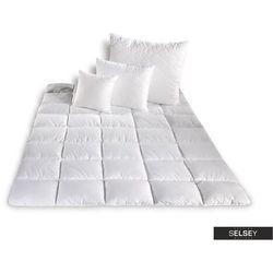 SELSEY Kołdra Micro II z poduszkami 60x70 cm