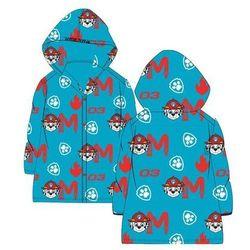Płaszcz przeciwdeszczowy z kapturem Psi Patrol niebieski