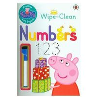 Książki do nauki języka, Peppa Pig: Practise with Peppa: Wipe-Clean Numbers - wysyłamy w 24h (opr. miękka)