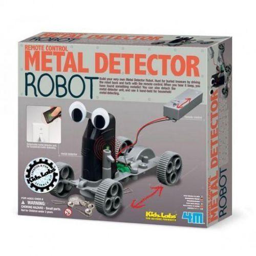 Roboty dla dzieci, 4M Zabawka kreatywna Detektor metalu robot