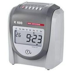 Urządzenie do rejestracji czasu pracy K 600,dla maks. 50 osób