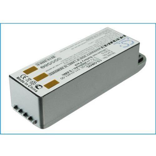Zasilanie do nawigacji, Garmin Zumo 500 / 010-10863-00 2600mAh 9.62Wh Li-Ion 3.7V srebrny (Cameron Sino)