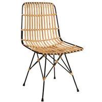 Fotele i krzesła biurowe, Dutchbone Krzesło KUBU 1100228