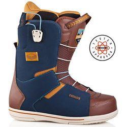 buty snowboardowe DEELUXE - Choice Cf Navy/Brown (9259) rozmiar: 45.5