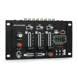 Auna Pro DJ-21 BT mikser DJ mikser Bluetooth USB czarny