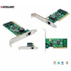 Karta sieciowa Intellinet 10/100/1000 RJ45 Gigabit na PCI ICC IO-GIGA-32