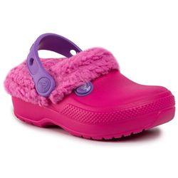 Kapcie CROCS - Classic Blitzen III Clog K 204655 Candy Pink/Party Pink