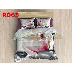 Pościel 3 D bawełna100% 160 x200 +2 poduszki 70x80 R063