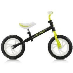 Rowerek biegowy Alpina TORNADO czarno - zielony 12