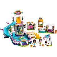 Klocki dla dzieci, LEGO Friends, Basen w Heartlake, 41313