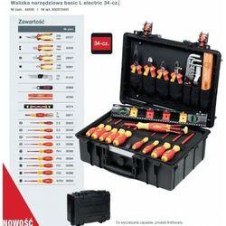 WIHA Walizka narzędziowa basic L electric 34-cz.