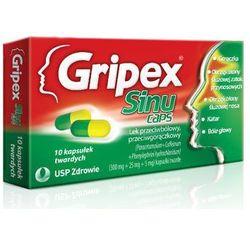 GRIPEX SINUCAPS x 10 kapsułek