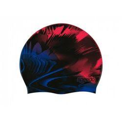 SPEEDO CZEPEK SLOGAN PRINT CAP INTERNATIONAL NAVY RED, KOLOR: MULTI, MATERIAŁ: SILIKON