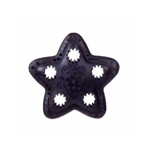 Pozostałe zabawki, Gwiazda kauczukowa na przysmaki - black