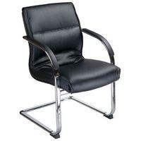 Fotele i krzesła biurowe, Fotel konferencyjny CorpoComfort BX-3346 Czarny