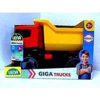 Wywrotki dla dzieci, Lena Pojazd Wywrotka Tytan 51 cm w pudełku