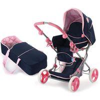 Wózki dla lalek, Wózek dla lalek Julia Classic Navy - BEZPŁATNY ODBIÓR: WROCŁAW!