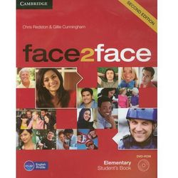 Face2face Elementary Student's Book + Cd (opr. miękka)
