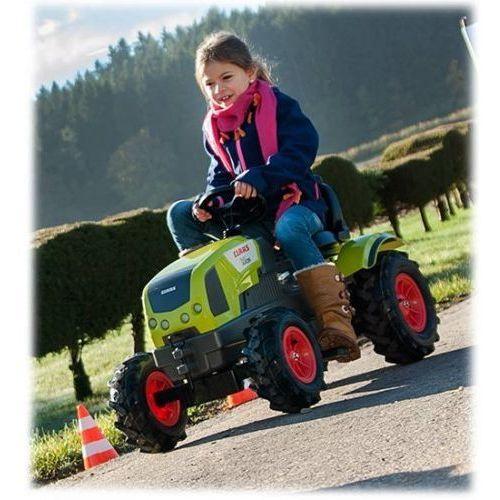 Traktory dla dzieci, ROLLY TOYS Traktor rollyFarmtrac Claas Arion 640 z rollyTracładowarką 710249