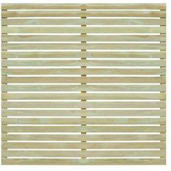 vidaXL Panel ogrodzeniowy, impregnowane drewno sosnowe, 180x180 cm Darmowa wysyłka i zwroty