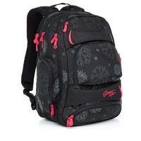 Tornistry i plecaki szkolne, Plecak młodzieżowy Topgal HIT 863 A - Black