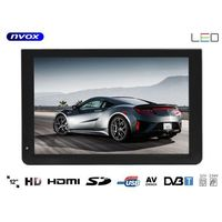 """Monitory samochodowe, Telewizor LED 12"""" HDMI VGA USB SD AV PVR DVB-T/T2 MPEG-4/2 12V 230V"""