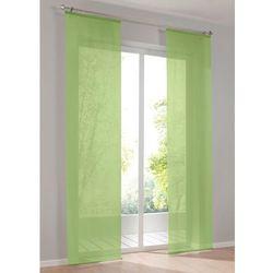 """Zasłona panelowa """"Uni_Woal"""" bonprix zielony"""