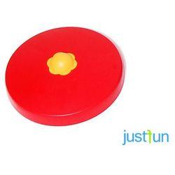 Nakładka plastikowa na belkę okrągłą Ø80 mm - czerwony