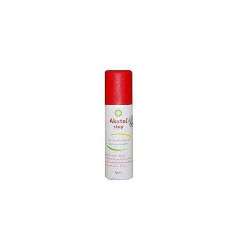 Pozostałe materiały opatrunkowe, Akutol stop spray - elastyczny opatrunek w aerozolu 60 ml