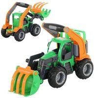 """Traktory dla dzieci, """"GripTrucks"""", traktor-ładowarka (w siatce)"""