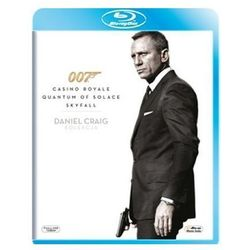 007 James Bond: Daniel Craig Collection - Casino Royale / Quantum of Solace / Skyfall (3 Blu-ray)