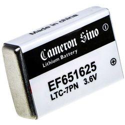 EF651625 750mAh 2.70Wh Li-SOCl2 3.6V (Cameron Sino)