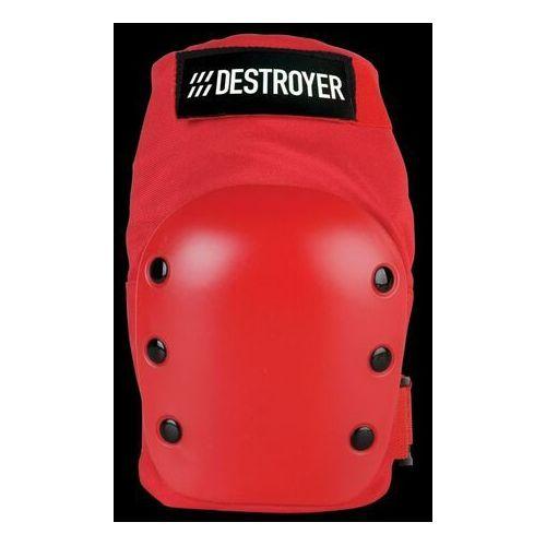 Ochraniacze na ciało, ochraniacz kolan DESTROYER - Rec Knee Red (RED)