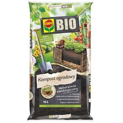 Kompost ogrodowy Compo Bio : Pojemność - 15 l