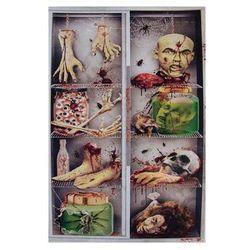 Dekoracja na drzwi Części ciała - 154 x 78 cm - 1 szt.