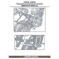 Stelaże motocyklowe, KAPPA KLXR2130 STELAŻ KUFRÓW BOCZNYCH SZYBKIEGO MONTAŻU MONOKEY SIDE YAMAHA MT 07 TRACER (2016)