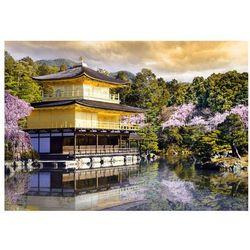 Fototapeta - Japoński krajobraz bogata chata