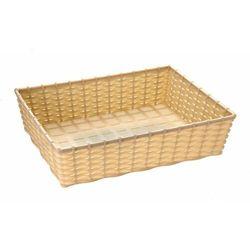 Koszyk prostokątny do chleba lub owoców | 395x295x(H)100mm | różne kolory