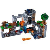 Klocki dla dzieci, 21147 PRZYGODY NA SKALE MACIERZYSTEJ (The Bedrock Adventures)- KLOCKI LEGO MINECRAF6