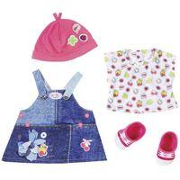 Ubranka dla lalek, BABY BORN Ubranka jeansowe deluxe - BEZPŁATNY ODBIÓR: WROCŁAW!