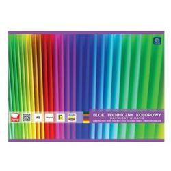 Blok techniczny a5 20k kolor barwiony /interdruk