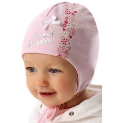 Czapka niemowlęca wiązana 5X34AQ Oferta ważna tylko do 2019-07-30