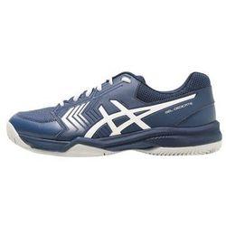 ASICS GEL DEDICATE 5 CLAY Obuwie do tenisa Outdoor dark blue/silver/white