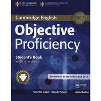 Książki do nauki języka, Objective Proficiency Student's book with answers (opr. miękka)