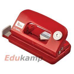 Mini dziurkacz metalowy Carl-03 Czerwony