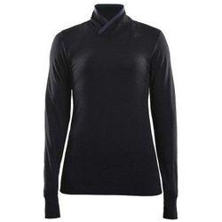 CRAFT Golf damski FUSEKNIT COMFORT WRAP - rozmiar S - kolor czarny