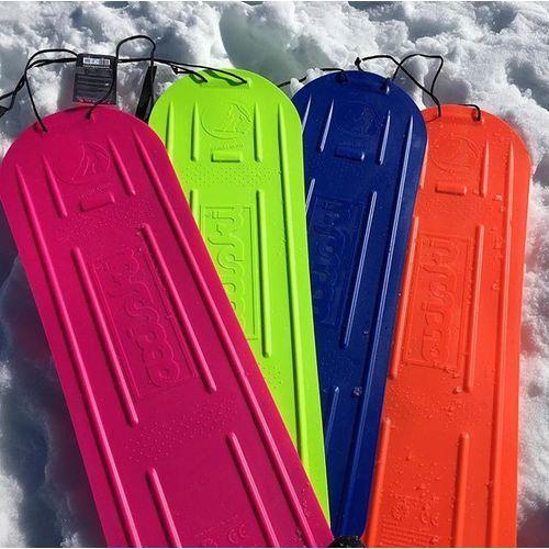 Deski snowboardowe, DESKA SNOWBOARD ŚLIZG Axiski, do jazdy na piasku, trawie, szronie lub śniegu - pomarańczowa