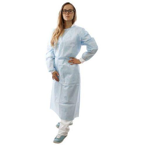 Ubrania medyczne, Jednorazowy fartuch barierowy z SMS (10 szt) 35