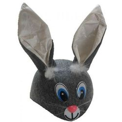 Czapka zając / królik, przebrania, kostiumy dla dzieci odgrywanie ról - II gatunek
