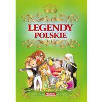 Książki dla dzieci, Legendy Polskie (zielona) (opr. twarda)